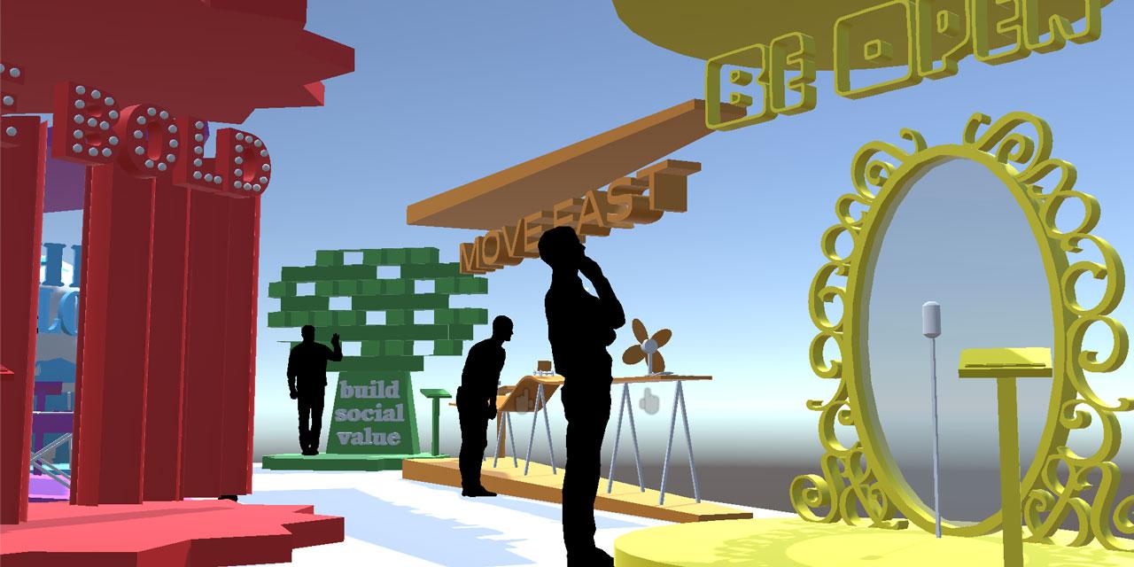 VR exhibit