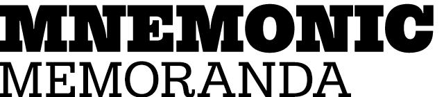 MNEMONIC/Memoranda