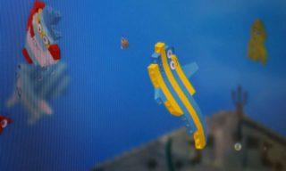 LEGO House fish