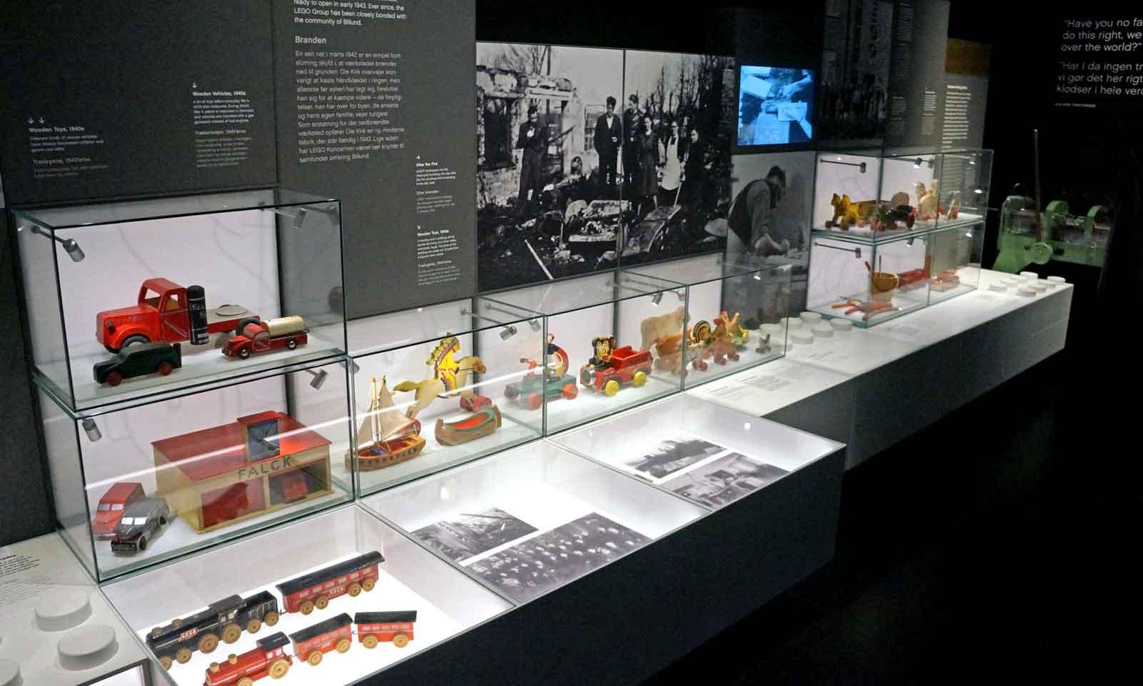 LEGO House history exhibition