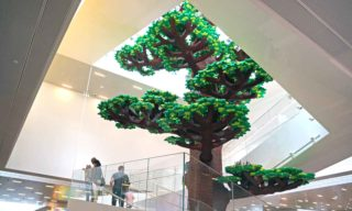 LEGO House tree